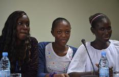 La voix des enfants durant le Pan African CRG Meeting